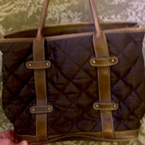 J Crew Nylon Quilted Handbag